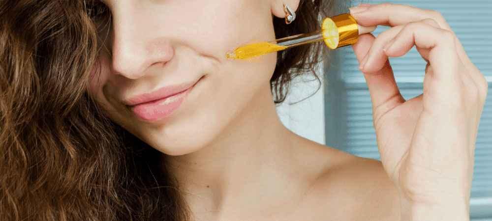vitamina c para pele do rosto